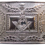 Masonic Thistle Buckle