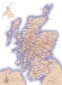 Clan-map